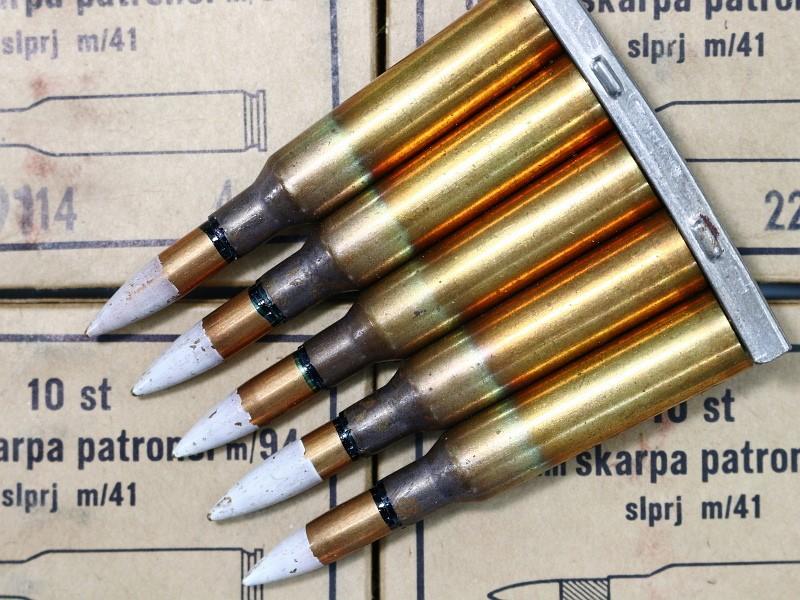 6 5 swedish mauser tracer ammunition 1 box