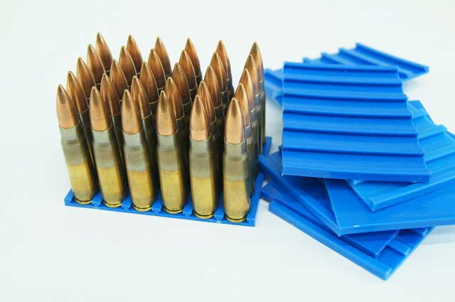7.62x39 ammo on stripper clip