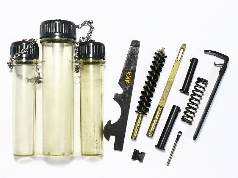 Swedish AK-4 (G3) Rifle Maintenance Kit w/Tools and Extractor