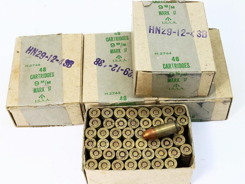 9mm British WW2 Ammunition 1 Box