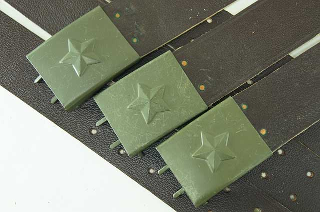 Czech Military Leather Belt