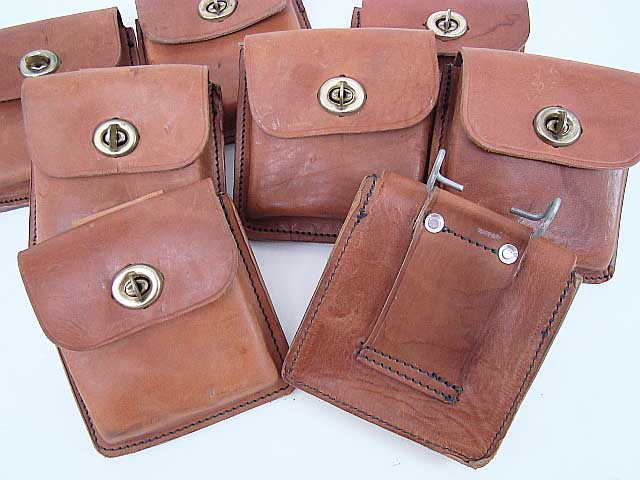 M1 Carbine Leather Mag Pouch Colombian Mil