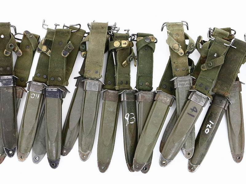 Us Military M8a1 Scabbard W Tip Used