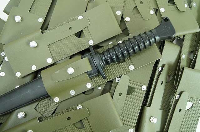 Swiss Military SIG Vinyl Bayonet Frog