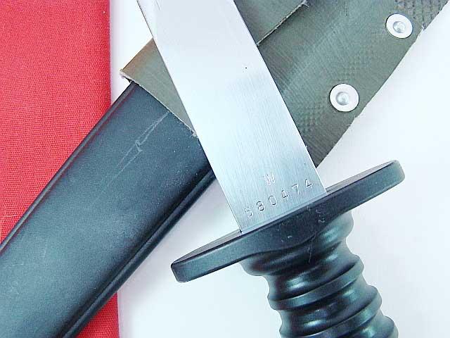 Swiss Military Fighting Knife W Frog