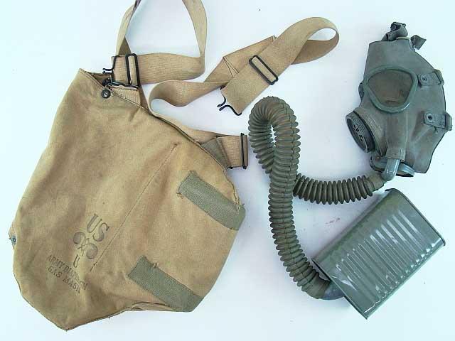 US Army WW2 Gas Mask #251