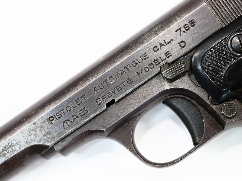French MAB Model D Pistol w/Box #D1049