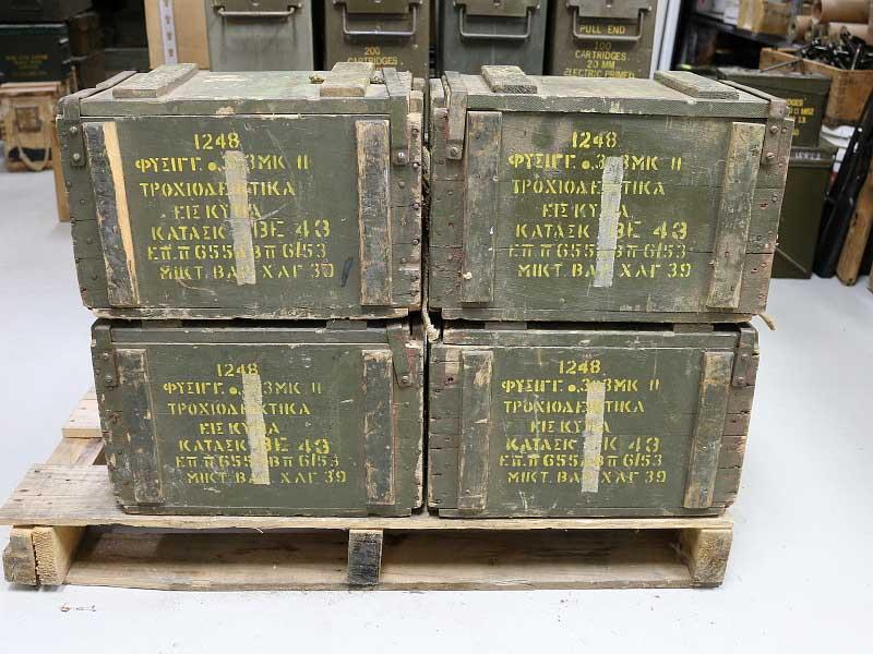 303 british ammunition surplus greek repack 1 48rnd box