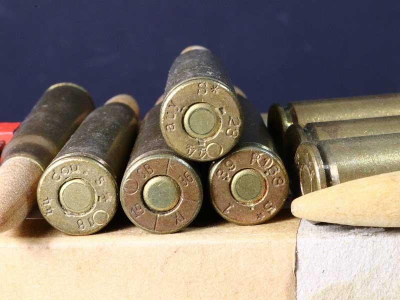 8mm Mauser Danish German Military Blank Ammunition 100rnd Box
