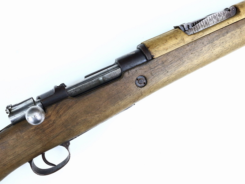 Spanish Mauser Model 1916 Short Rifle REF