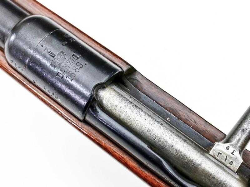german GEW88 gew 88 commission rifle barrel shroud w both sights heat shield