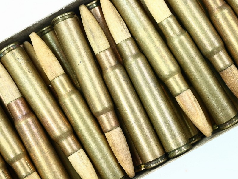 8mm Mauser Danish German Blank Ammunition 1 Box #2450