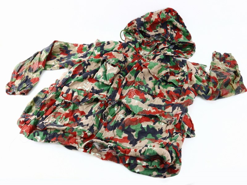 Swiss Alpenflage Camo Jacket Pants and Pack Set