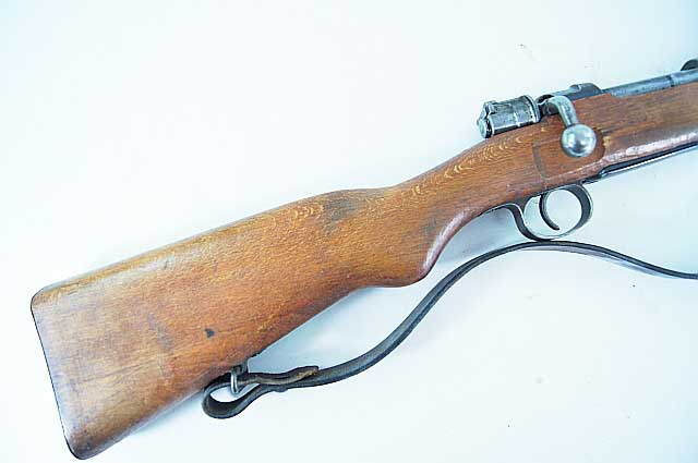Turkish Mauser Kar 98AZ Short Rifle REF