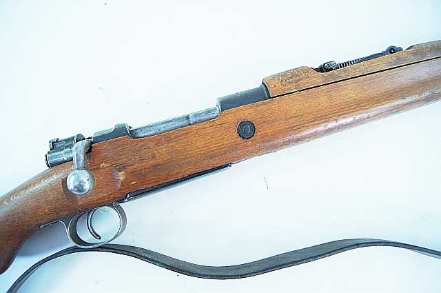 Turkish Mauser Kar 98AZ Short Rifle REF